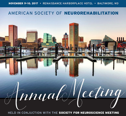 2017 annual meeting american society of neurorehabilitation
